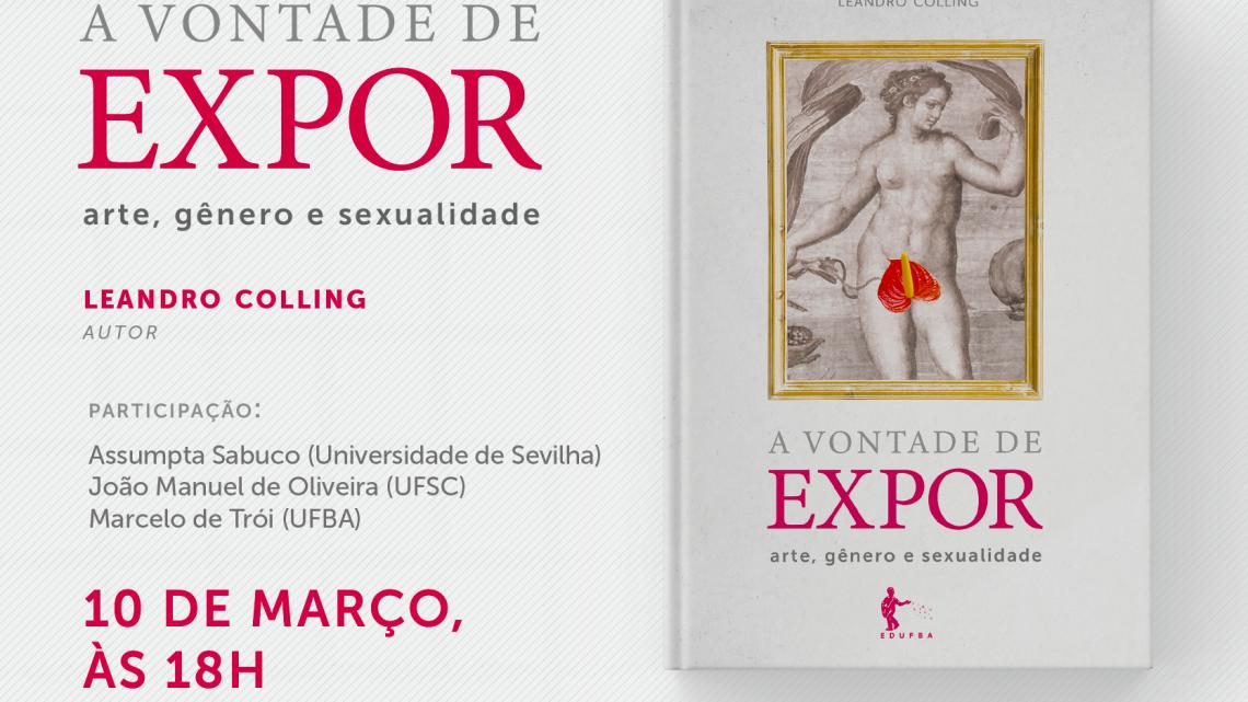 Pesquisador do NuCuS lança livro sobre arte, gênero e sexualidade